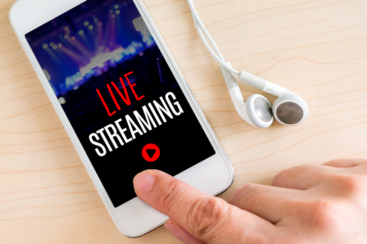Live Streaming in China use for Digital Marketing