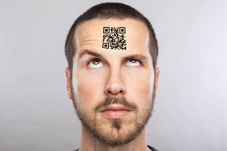QR codes in China are used to make instant payments