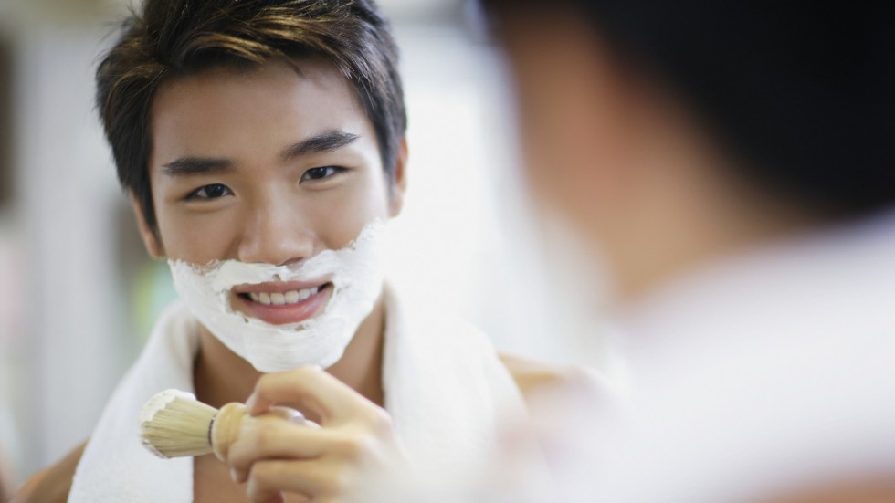 Chinese man is buying more self grooming products