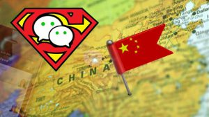 WeChat the superhero