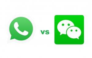 WhatsApp Vs WeChat