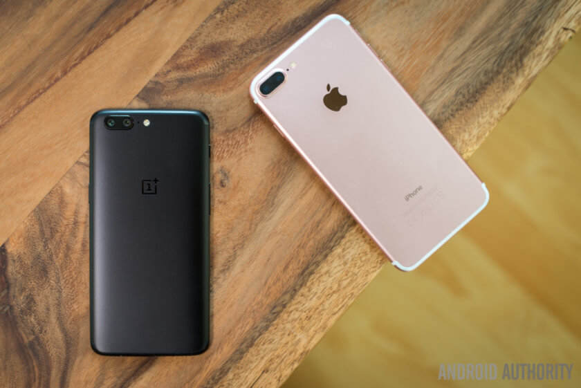 oneplus and apple smartphone consumption in india