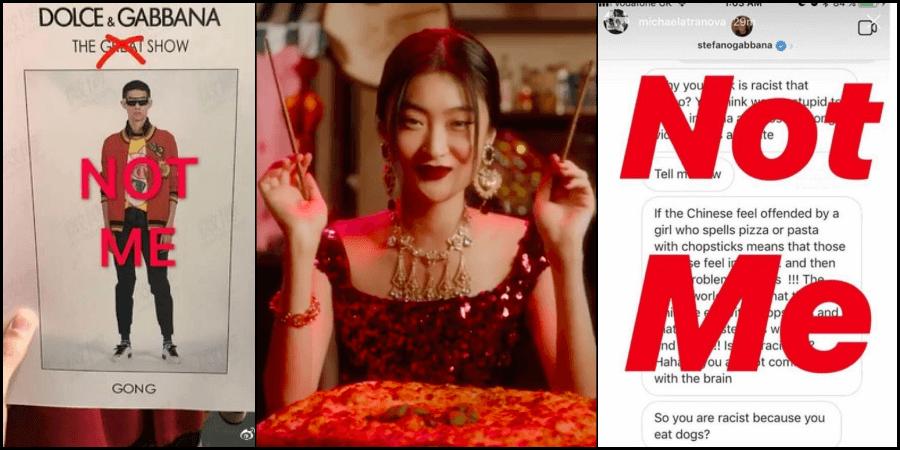 dolce & gabbana chinese racism
